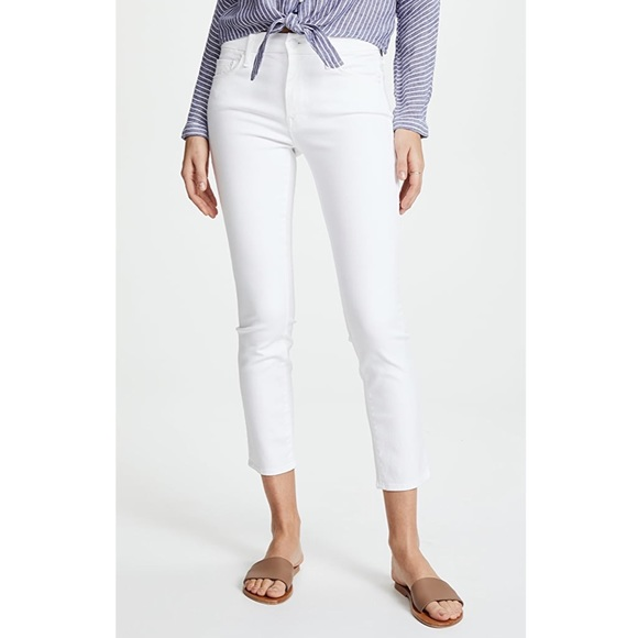 MOTHER Looker Crop Jeans Size 31 New $198